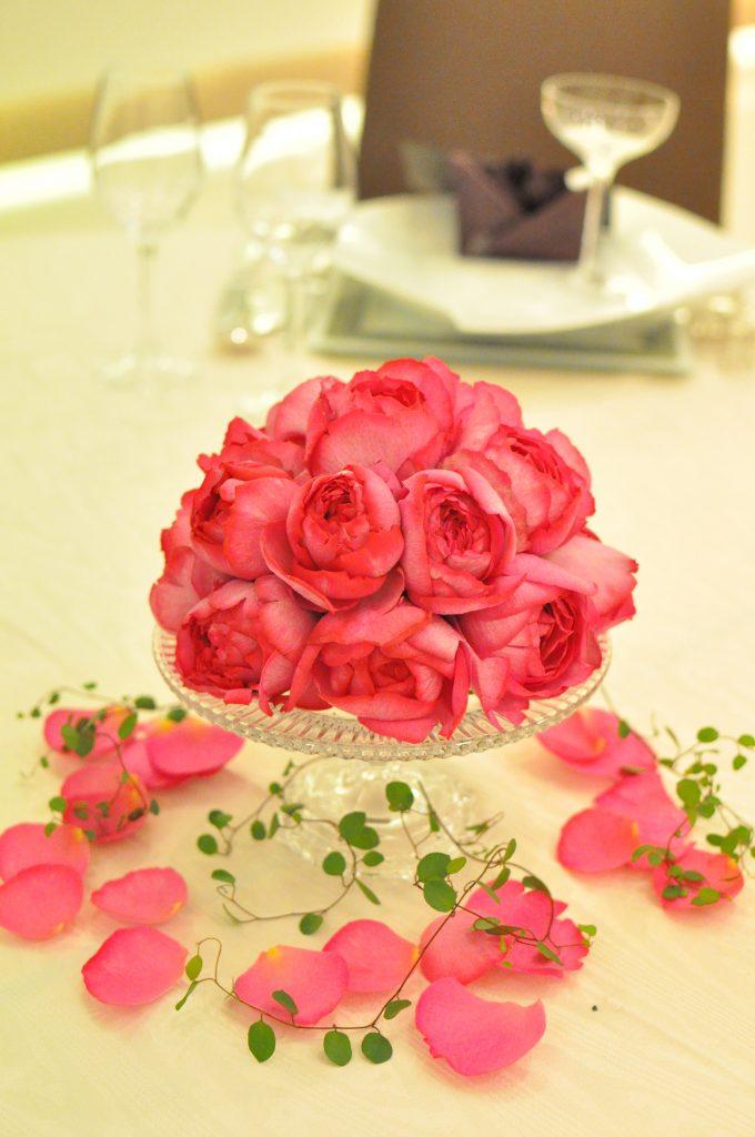 イブピアッチェの卓上花